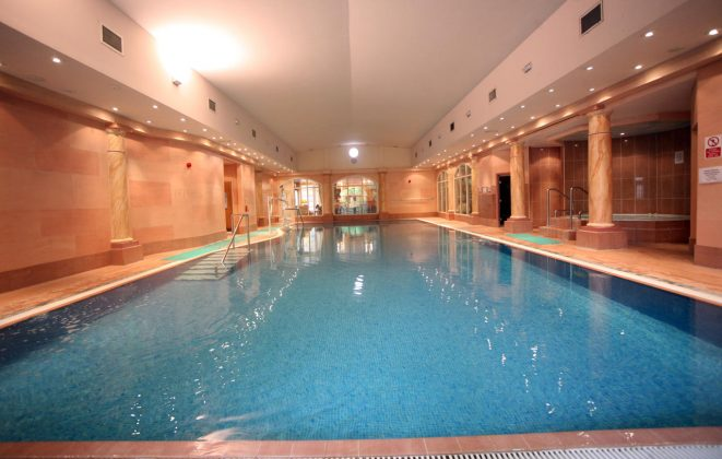 Swimming Pool at Crabwell Manor Hotel & Spa
