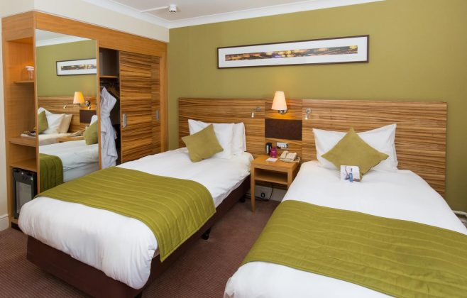 Bedrooms Crowne Plaza Hotel Chester
