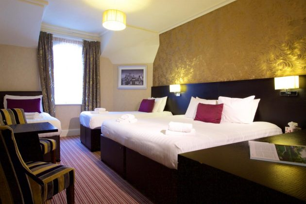 Bedrooms at Hallmark Inn Chester (Westminster)