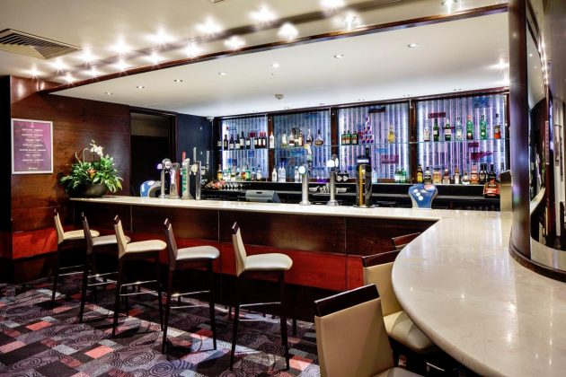Bar at Mercure Chester Abbots Well Hotel