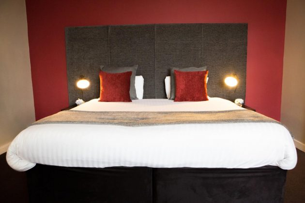 Bedrooms at The Townhouse Chester