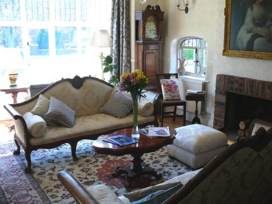 Seating Area at Chester Court Hotel