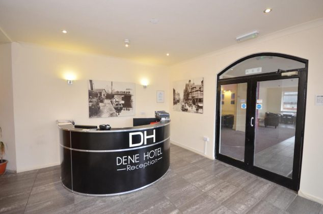 Lobby at Dene Hotel Chester