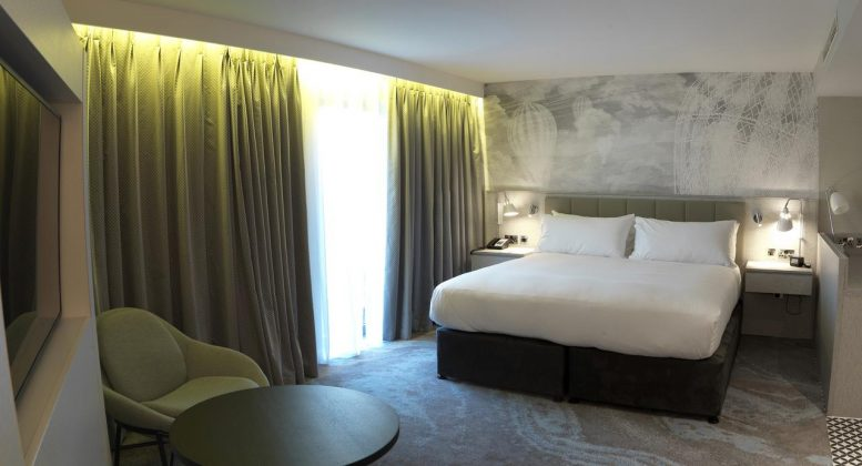 Bedrooms at Doubletree By Hilton Chester