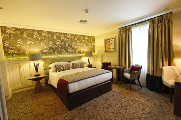 Bedrooms Grosvenor Pulford Hotel
