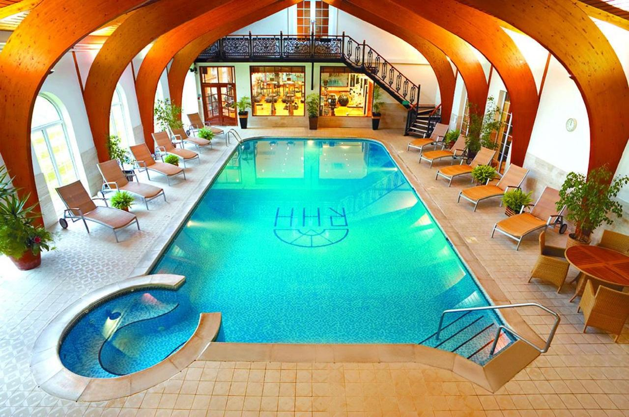 Swimming Pool at Rowton Hall