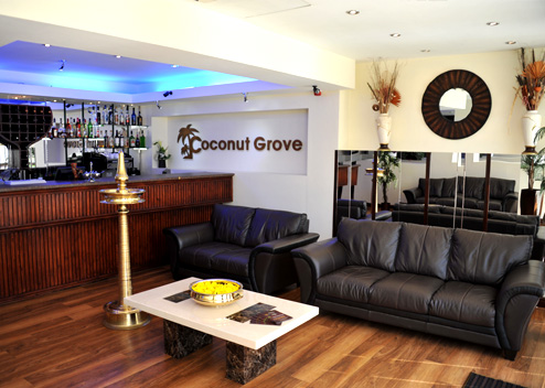 Seating are at Koconut Grove
