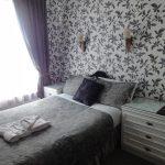 Bedrooms at the Bowman Lodge