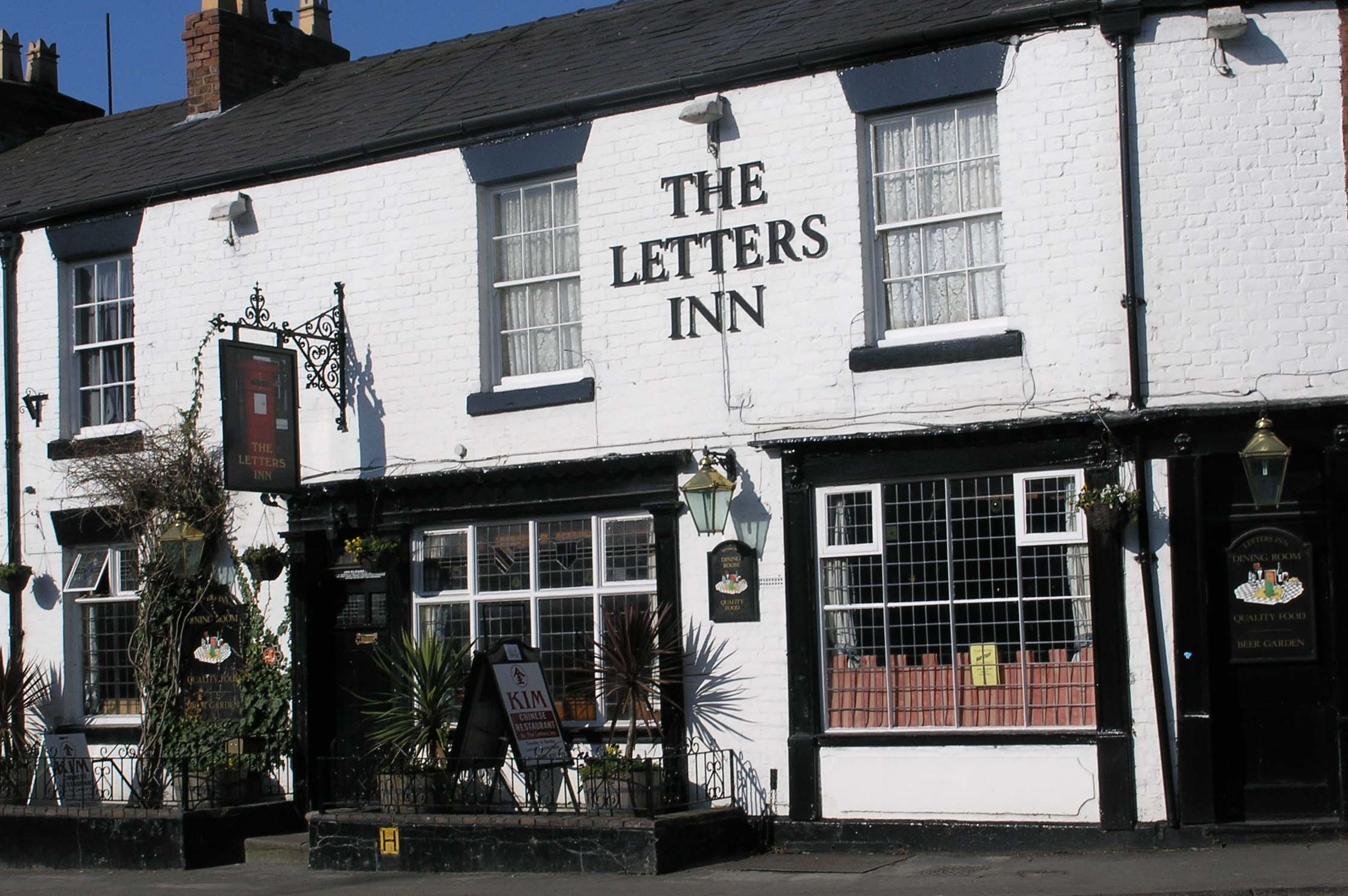 The Letters Inn Tattenhall