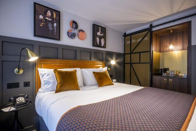 Bedrooms in Hotel Indigo