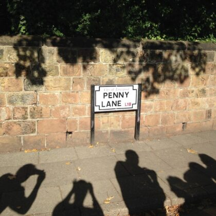 Penny Lane on Beatles Magical Mystery Tour