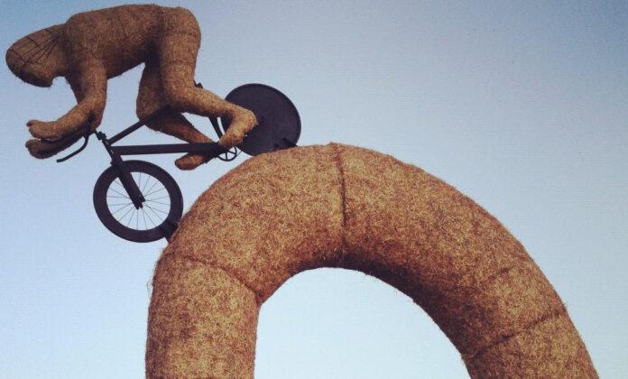 Snugburys Ice Cream Farm Olympian Sculpture